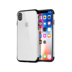 0001 2PNS139SS ChromeClear iPhoneX Black