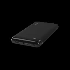 2BB183S ttec PowerSlim LCD 10000 mAh Tasinabilir Sarj Aleti Powerbank USB C Giris Cikis Siyah 1