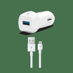 2CKQC01M ttec speedcharger quickcharge 3 arac ici sarj aleti beyaz 1