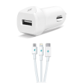SpeedCharger Trio White