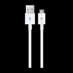 2DK12B ttec typec usb sarj data kablosu beyaz