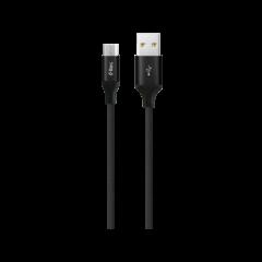 2DK22 ttec AlumiCable XXL Micro USB Sarj Kablosu 3mt Siyah 1