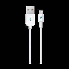 2DKM01B ttec lightning mfi sarj kablosu beyaz 1
