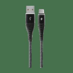 2DKX02CS ttec extreme cable typec sarj data kablosu siyah 1