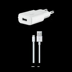 2SCM05 ttec Quantum Apple MFi Lisansli Seyahat sarj Aleti 1A Lightning Kablo 1 2