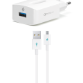 SpeedCharger QC Micro USB White