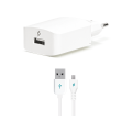 SpeedCharger Micro USB White