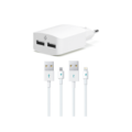 SpeedCharger Duo White