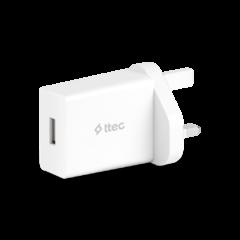 2SCS20B UK ttec SmartCharger 2.1A Seyahat Sarj Aleti UK