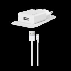 2SCS20LB ttec smartcharger lightning kablolu seyahat sarj aleti beyaz 1