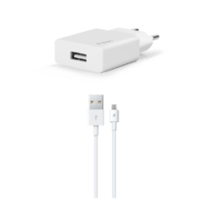 2SCS20MB ttec smartcharger micro usb kalolu seyahat sarj aleti beyaz