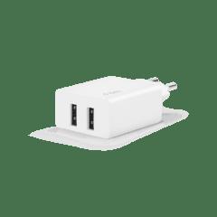 2SCS21B ttec smartcharger duo iki usb girisli seyahat sarj aleti beyaz