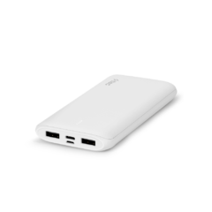 2bb163B ttec powerslim duo 10000 mah tasinabilir sarj aleti powerbank beyaz