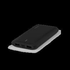 2bb163S ttec powerslim duo 10000 mah tasinabilir sarj aleti powerbank siyah